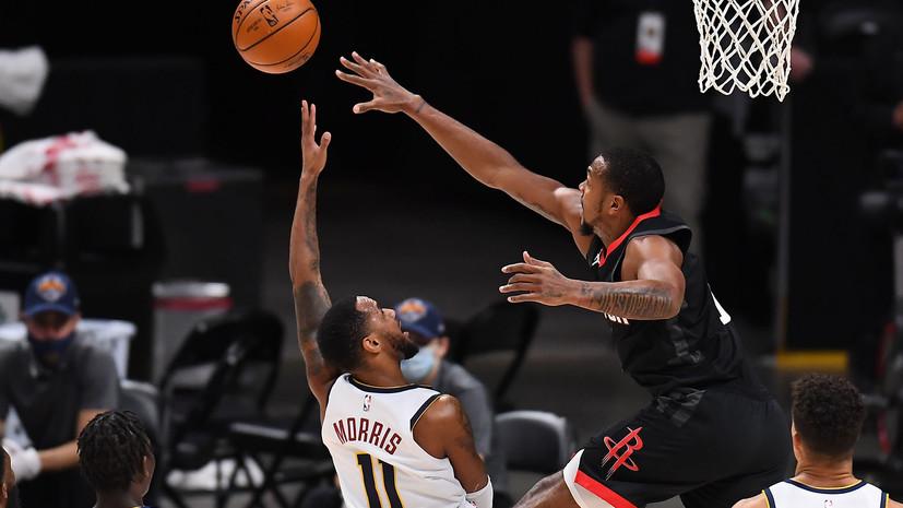 Трипл-дабл Йокича помог «Денверу» победить «Хьюстон» в матче НБА