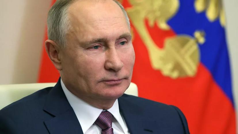 Песков: Путин сам решит, когда сообщить о своей вакцинации от коронавируса
