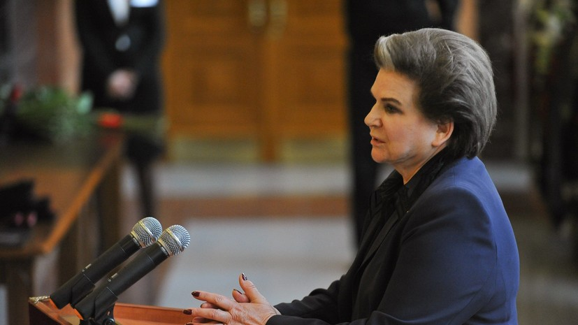 Терешкова рассказала о планах на Новый год