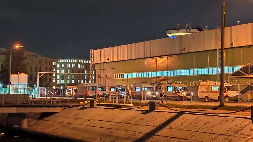 В госпитале в «Ленэкспо» в Петербурге ввели в работу ещё три павильона