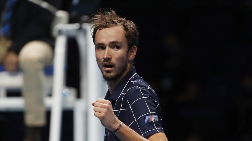Семак назвал победу Медведева на Итоговом турнире ATP главным событием 2020 года