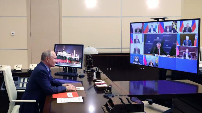 Песков рассказал, что Путин пользуется интернетом