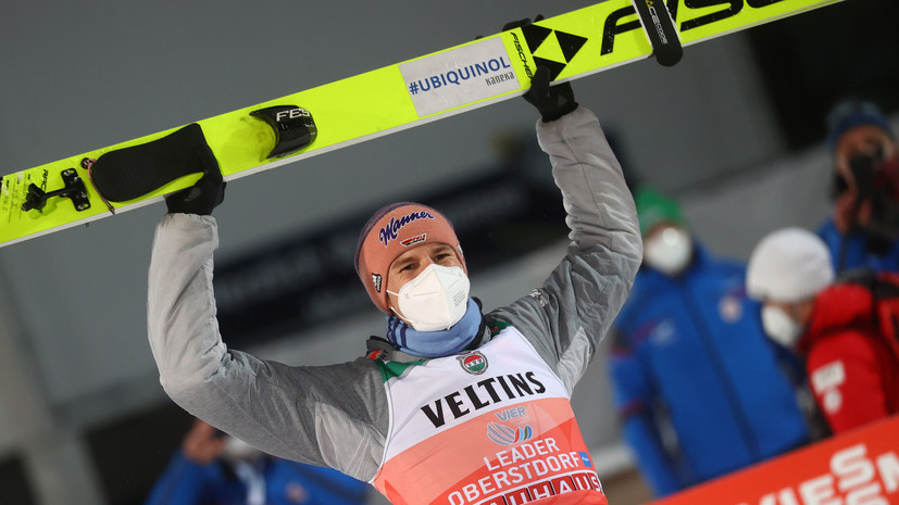 Гайгер выиграл первый этап «Турне четырёх трамплинов», Климов — 26-й