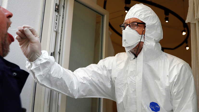 В Германии за сутки выявили более 22 тысяч случаев коронавируса