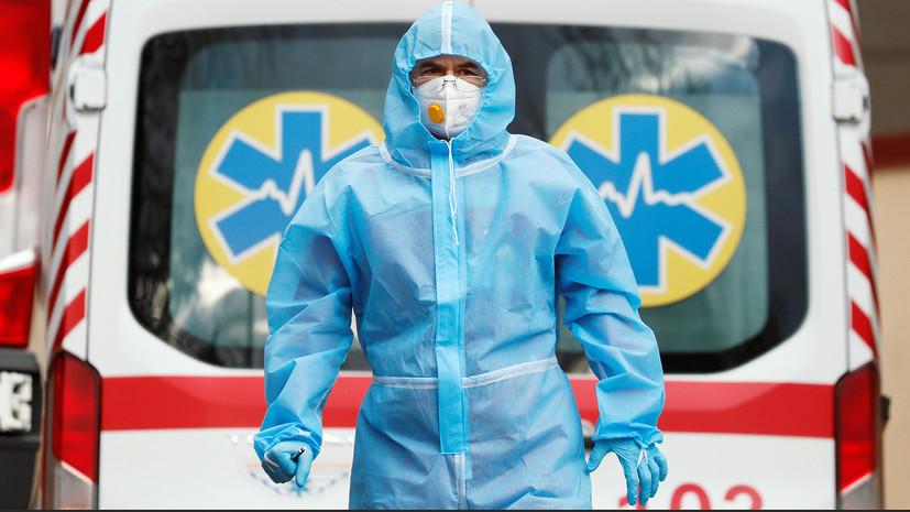 На Украине выявили 7986 новых случаев коронавируса за сутки