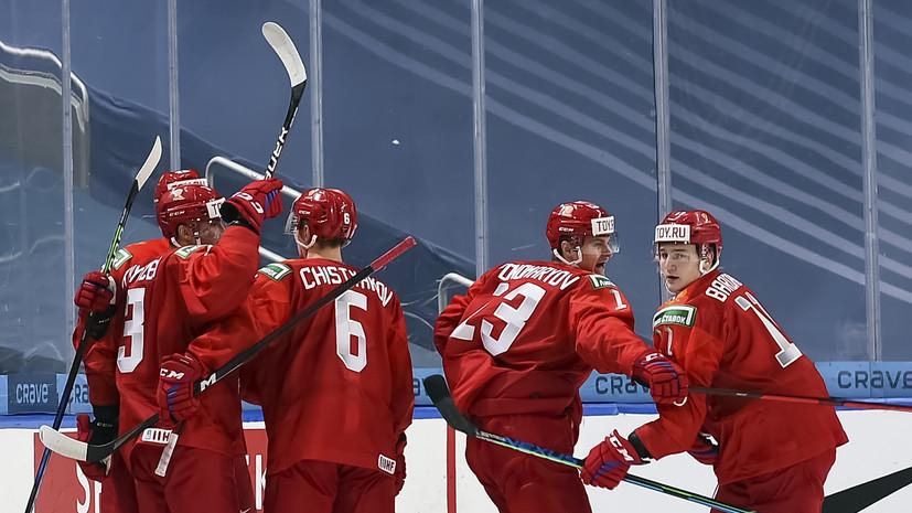 Сборная России в матче с Австрией впервые реализовала большинство на МЧМ-2021
