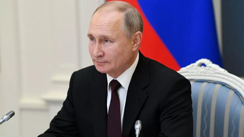Путин поздравил Байдена и Трампа с Новым годом и Рождеством