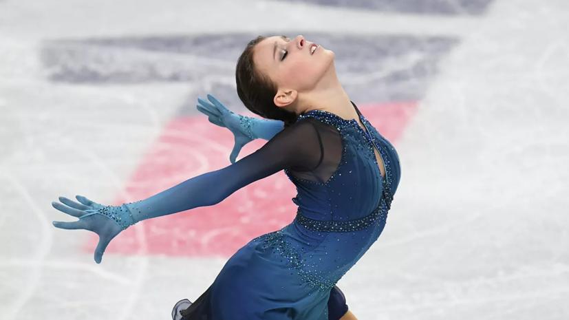 Щербакова рассказала, что чувствовала после победы на чемпионате России