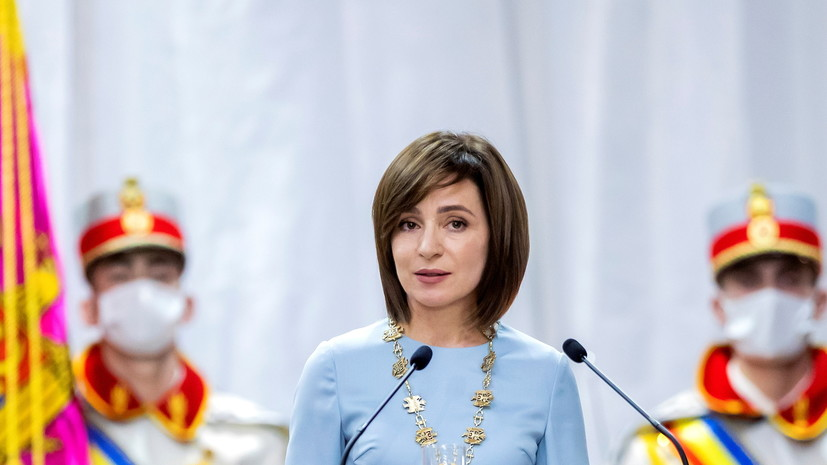 Санду выразила готовность приехать в Россию для обсуждения отношений