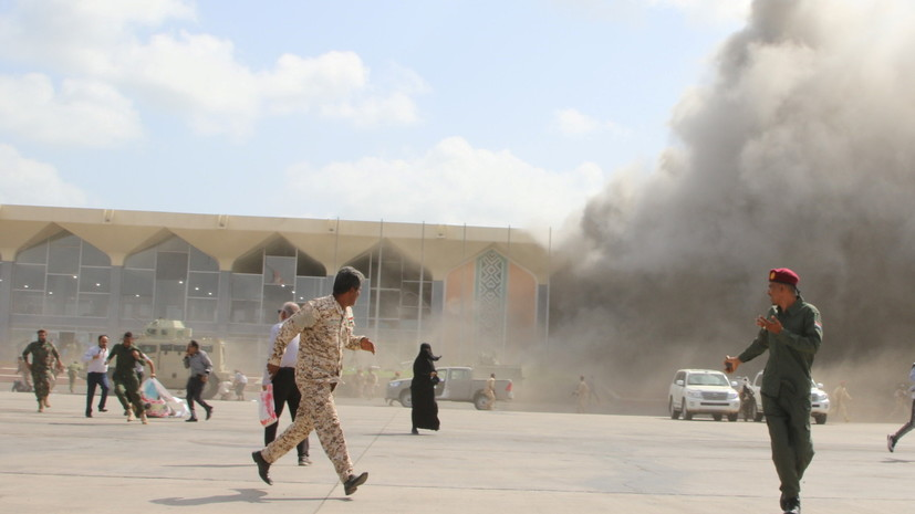 Число погибших сотрудников МККК при атаке на аэропорт в Йемене возросло до трёх