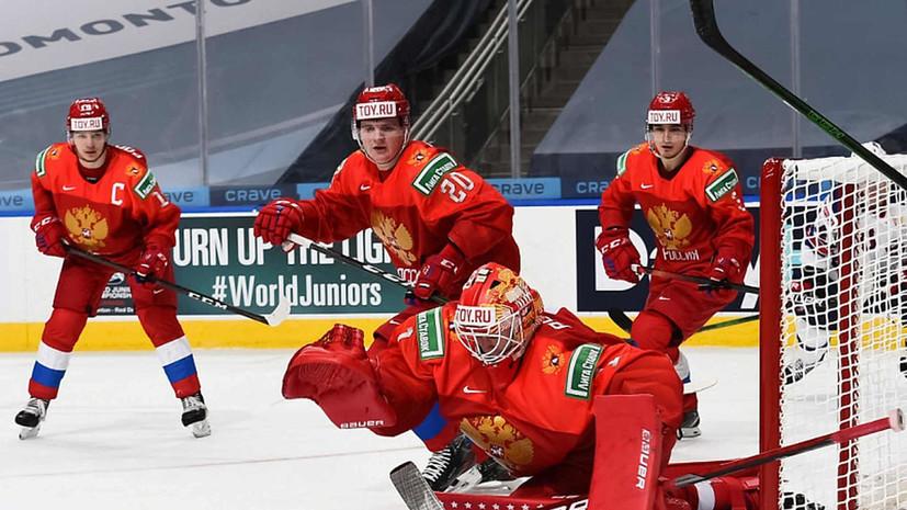 Швеция сравняла счёт в матче с Россией на МЧМ-2021 по хоккею
