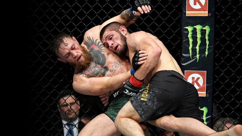 Глава UFC заявил, что хотел бы организовать реванш Нурмагомедова с Макгрегором
