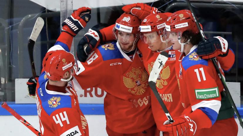 Ларионов заявил об отсутствии претензий к судейству матча со Швецией