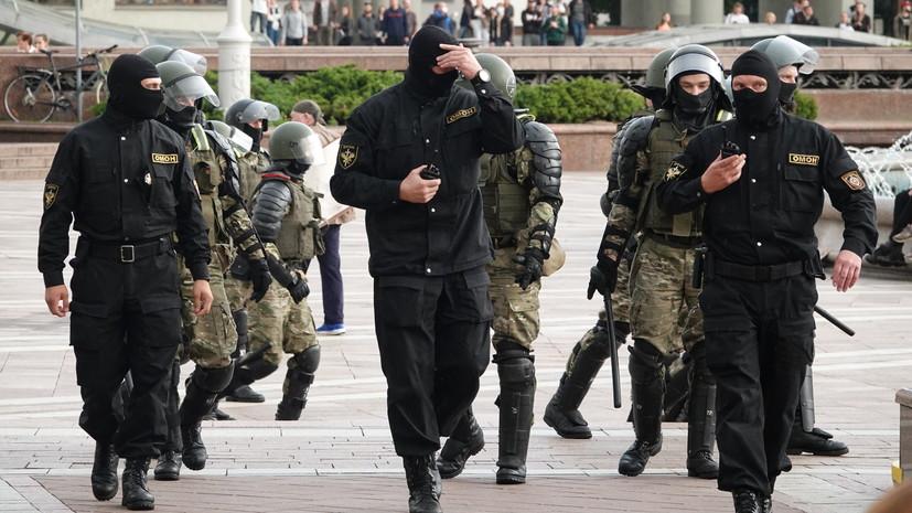 Глава МВД Белоруссии заявил о пресечении попыток посеять хаос в стране