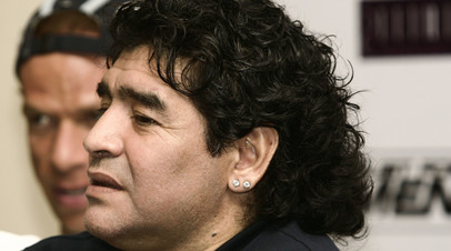 Марадона упал с кровати за несколько дней до смерти и сильно ударился головой
