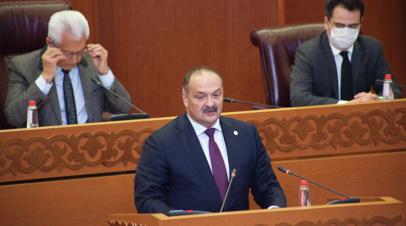 Заболевший COVID-19 врио главы Дагестана госпитализирован