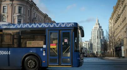 Власти Москвы рассказали о транспортном пассажиропотоке