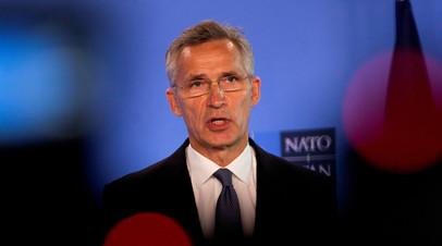 В НАТО обсудили ситуацию в Белоруссии
