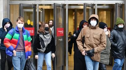 550 тысяч тестов за сутки: в России выявлено 28 782 новых случая коронавируса
