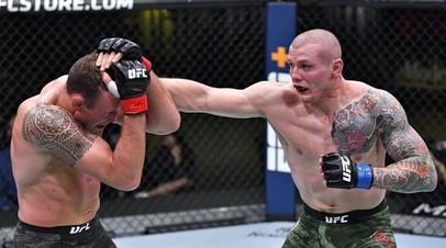 Бойцы UFC Джек Херманссон и Марвин Веттори