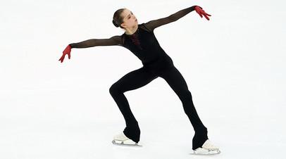 Камила Валиева на контрольных прокатах сборной России