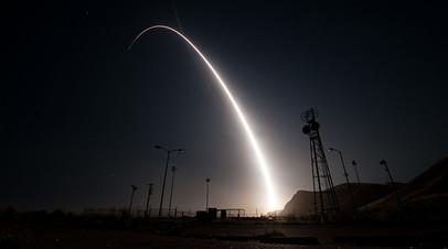 Межконтинентальная баллистическая ракета Minuteman III