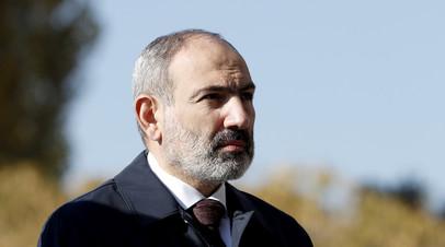 Глава правительства Армении Никол Пашинян
