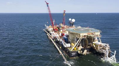 Строительство проекта «Северный поток — 2»