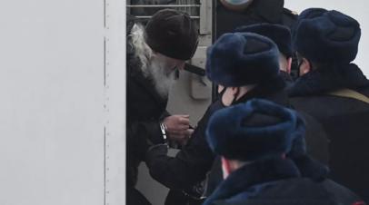 Суд отправил под арест бывшего схимонаха Сергия