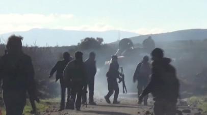 SANA: один солдат погиб при ударе по окрестностям Дамаска