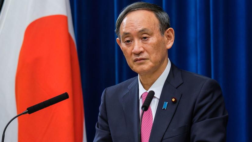 Японский премьер записал новогоднее обращение