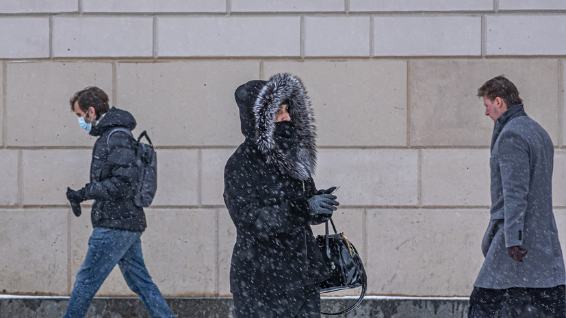 В Москве после Нового года ожидается резкое похолодание