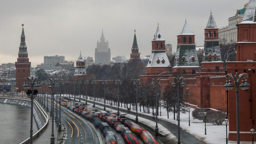 В Москве 1 января ожидается до -1 °С