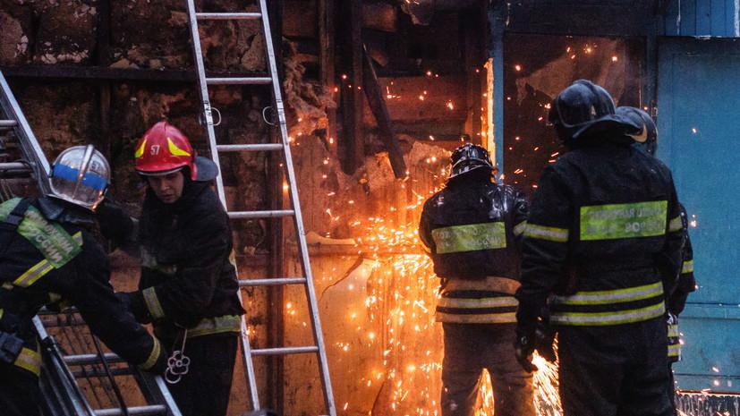 В России с 1 января будут присваивать категории пожарного риска