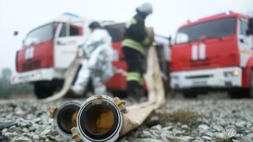 В Самаре на заводе произошёл крупный пожар