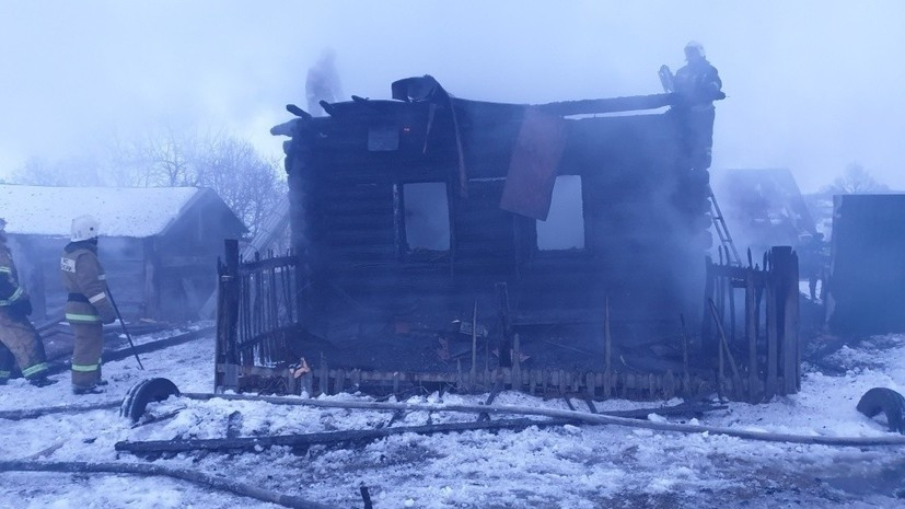 В Чувашии рассказали о погибшей в пожаре семье