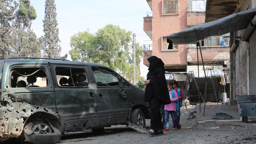 Террористы совершили 20 обстрелов в идлибской зоне деэскалации в Сирии