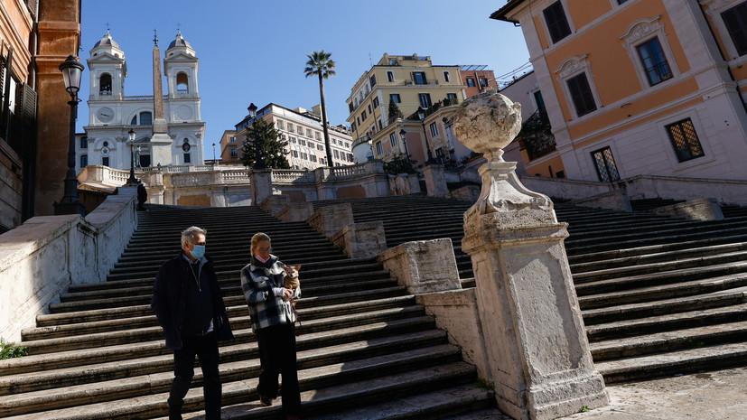 В Италии за сутки выявили более 22 тысяч случаев коронавируса