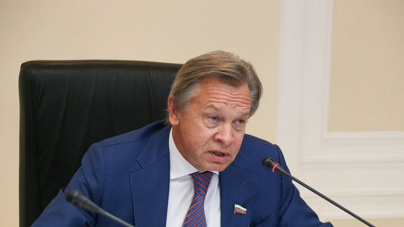 Пушков оценил слова Зеленского о Крыме и Донбассе