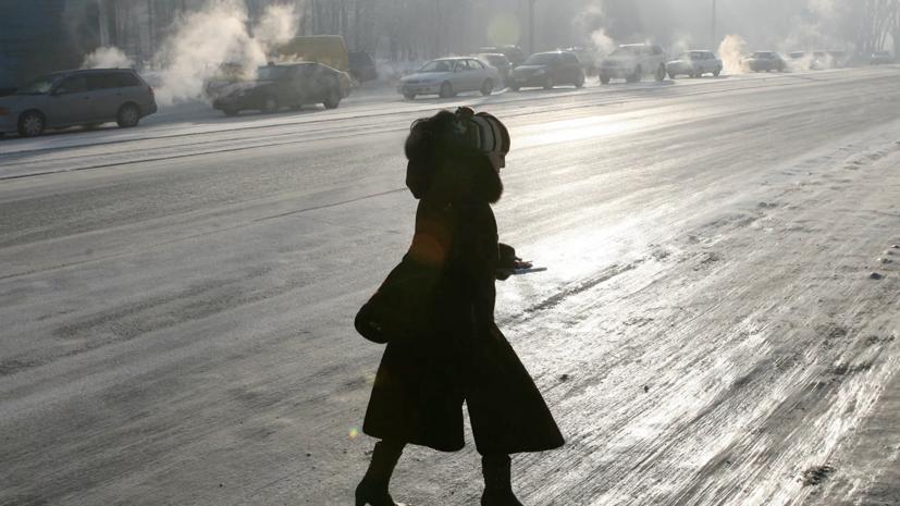 В Москве предупредили о гололёде на дорогах до конца дня