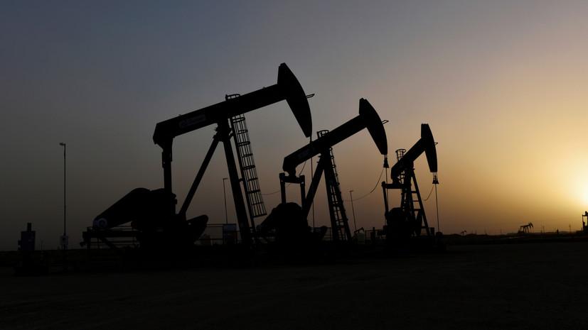 В России добыча нефти снизилась до десятилетнего минимума