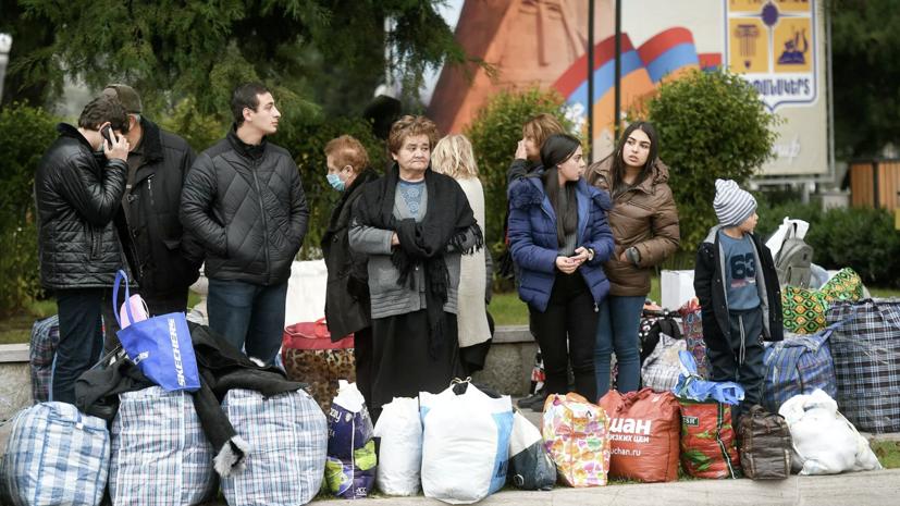 Ещё более 130 беженцев вернулись в Карабах из Армении