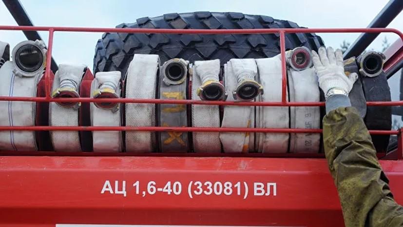 Спасатели отметили рост числа пожаров из-за морозов в Томской области