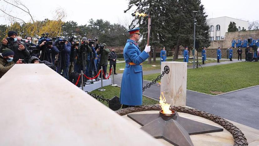 В Сербии задержали осквернивших мемориал воинам-освободителям