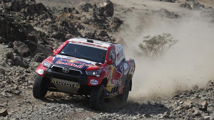 Аль-Аттия выиграл второй этап «Дакара» в зачёте внедорожников