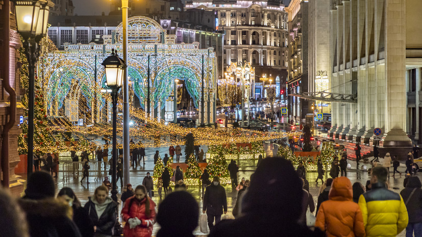 В Гидрометцентре рассказали о погоде в Москве на Рождество