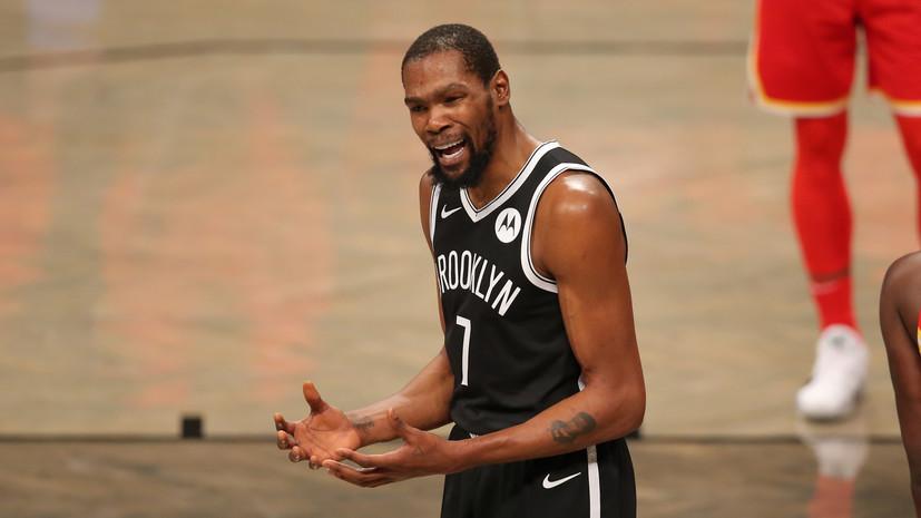 Источник: звезда НБА Дюрант отправился на самоизоляцию из-за контакта с заболевшим коронавирусом