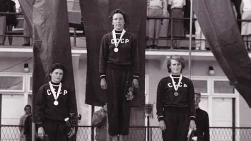 Чемпионка Европы по прыжкам в воду с трамплина Дедова умерла в возрасте 89 лет