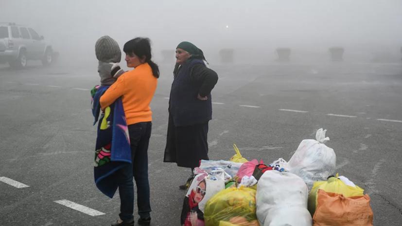 Почти 180 беженцев вернулись за день в свои дома в Нагорном Карабахе