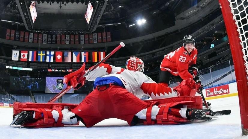 Аскаров спас ворота сборной России после броска Пярссинена в упор в матче МЧМ-2021